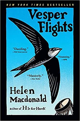 book cover of Vesper Flights by Helen Macdonald