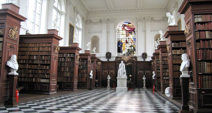 photo of the wren library