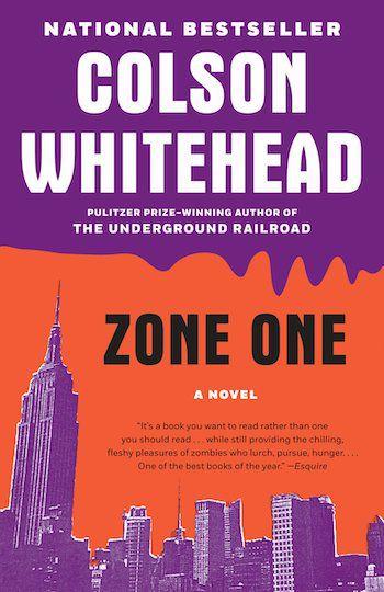 Zone One book cover
