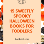 15 Sweetly Spooky Halloween Books for Toddlers pinterest pin
