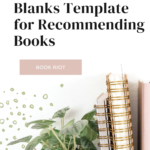 A Fill-in-the-Blanks Template for Recommending Books pin