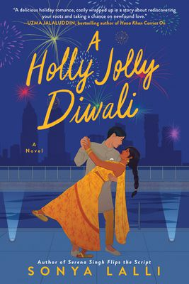 A Holly Jolly Diwali by Sonya Lalli book cover