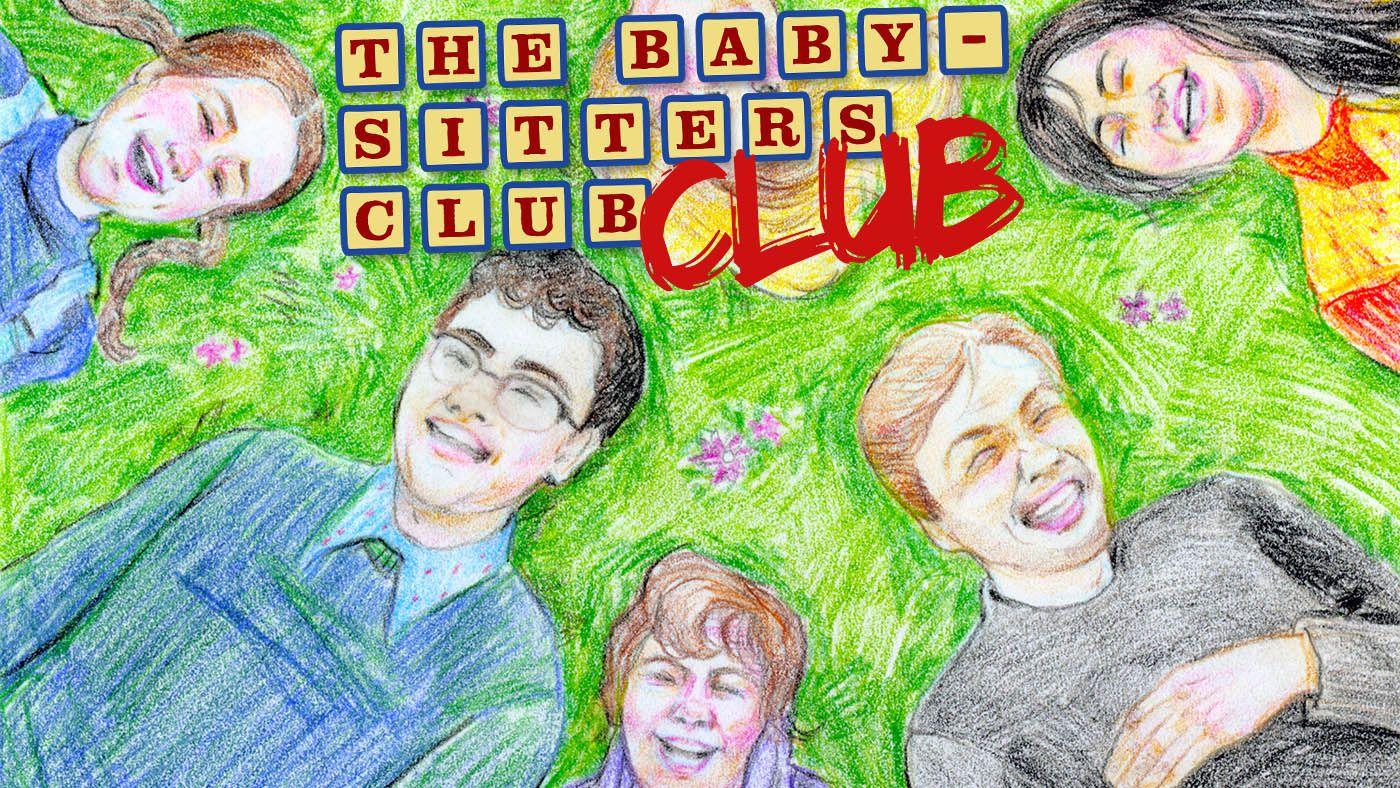 baby sitters club club podcast logo