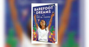Book cover of Barefoot Dreams of Petra Luna