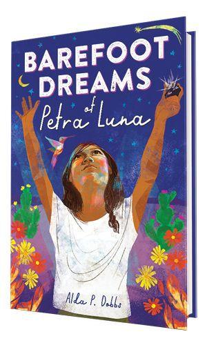 Book cover of Barefoot Dreams of Petra Luna.