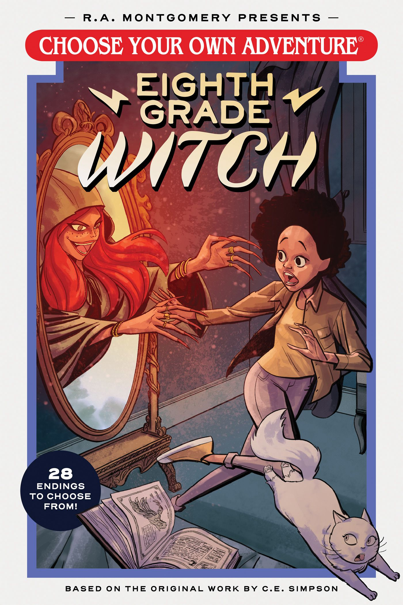 Choose Your Own Adventure Eighth Grade Witch book cover