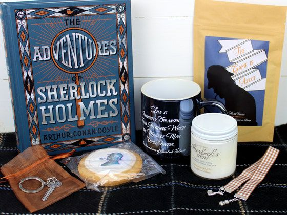 Example of Sherlock Holmes Box from Coffee and a Classic
