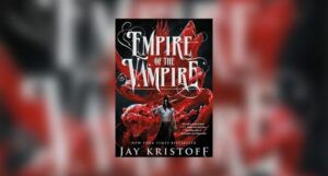 book cover of Empire of the Vampire