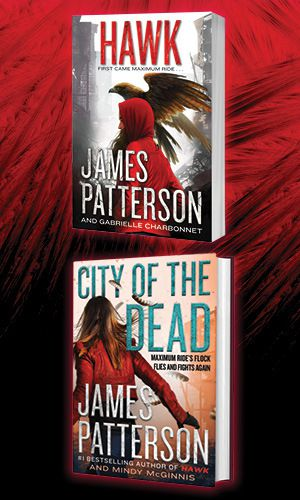 HAWK and CITY OF THE DEAD book covers