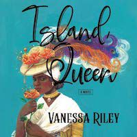 A graphic of the cover of Island Queen by Vanessa Riley