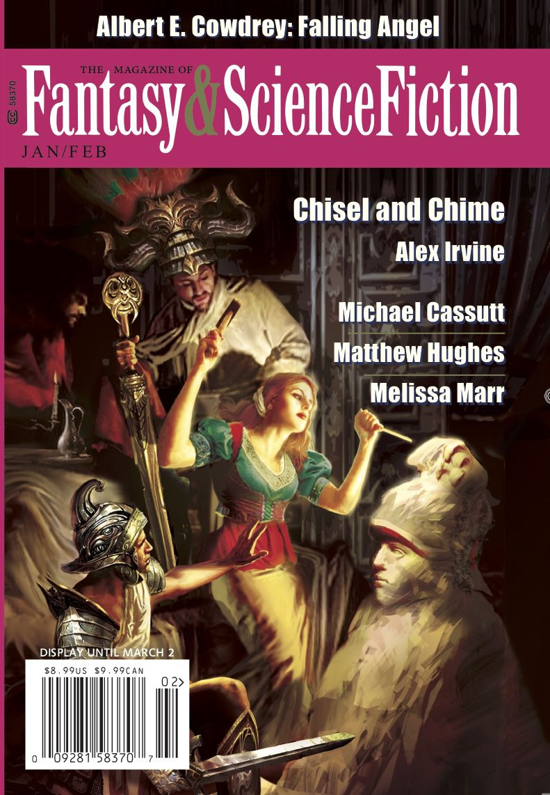Cover image of the January/February 2020 issue of The Magazine of Fantasy & Science Fiction
