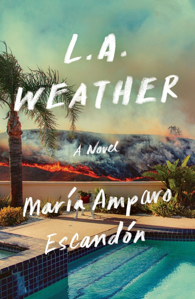 Book cover for L.A. WEATHER by María Amparo Escandón