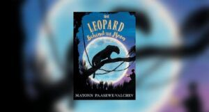 Book cover of The Leopard Behind the Moon
