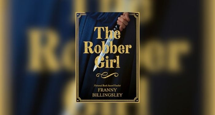 book cover of The Robber Girl
