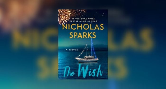 Book cover for THE WISH by Nicholas Sparks