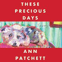 A graphic of the cover of These Precious Days by Ann Patchett