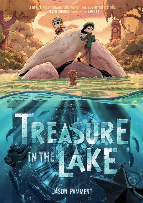 Treasure in the Lake book cover