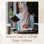 What Reading Looks Like When You're a Full-Time Author pin