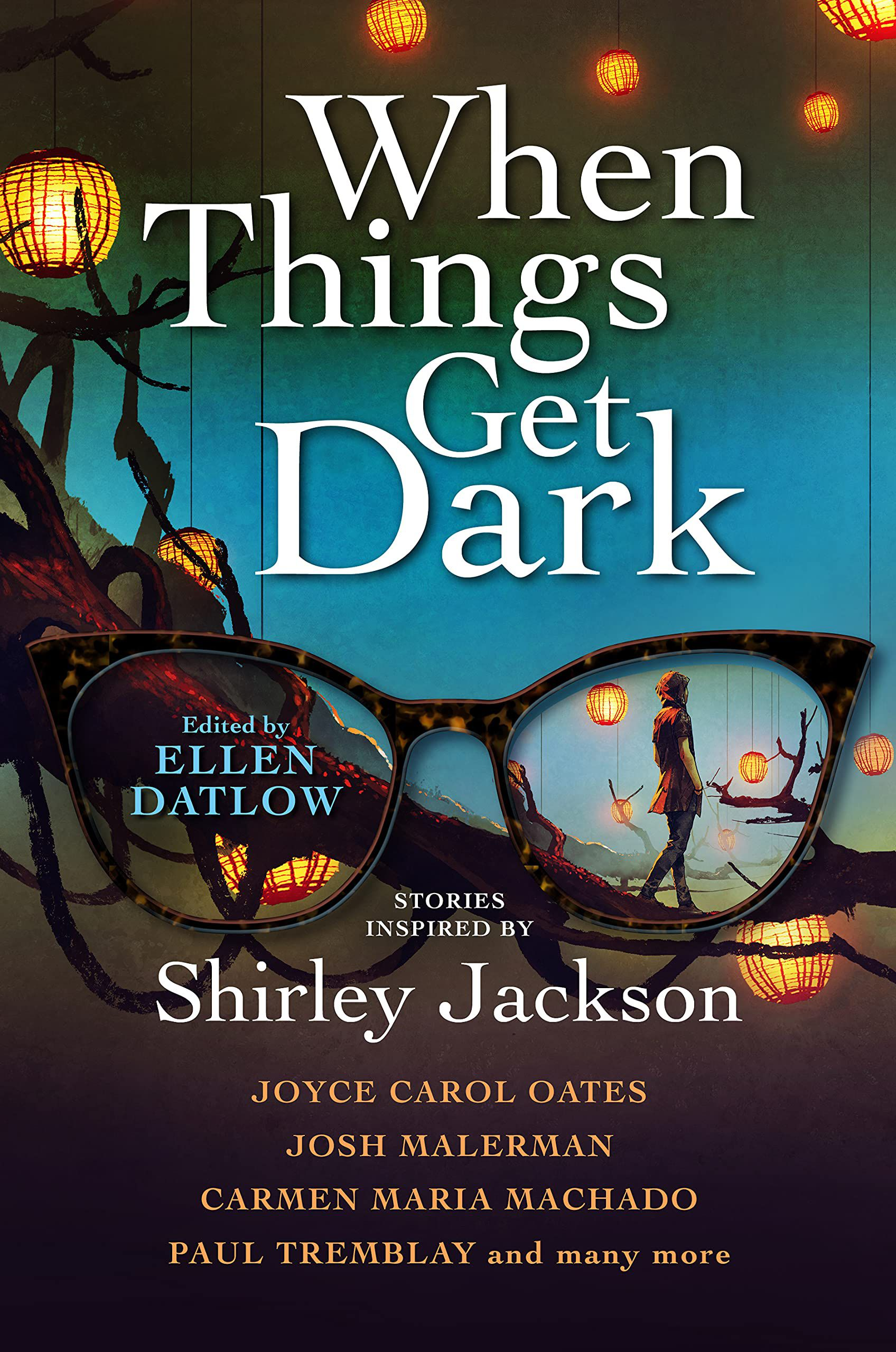 cover image of When Things Get Dark edited by Ellen Datlow