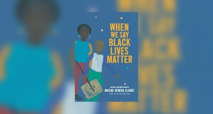 Book cover for When We Say Black Lives Matter