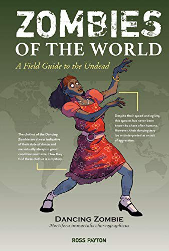 Zombies of the World by Ross Payton book cover