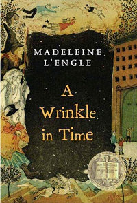 A Wrinkle in Time by Madeleine L'Engle book cover