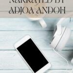 pinterest image for adjoa andoh audiobooks