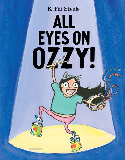 Cover of All Eyes on Ozzy by Steele