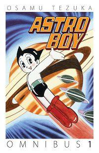 Astro Boy by Osamu Tezuka book cover