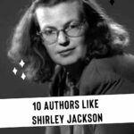 pinterest image for authors like shirley jackson