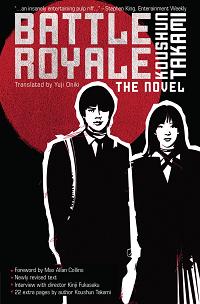 Battle Royale by Koushon Takami book cover