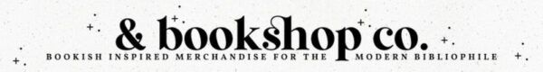 Banner for & bookshop co.