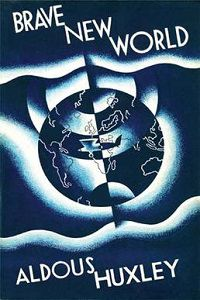 Brave New World by Aldous Huxley book cover