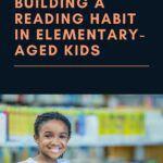 pinterest image for building a reading habit