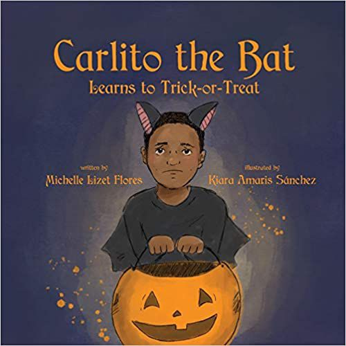 cover of carlito the bat learns to trick-or-treat