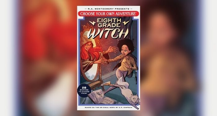 Choose Your Own Adventure Eighth Grade Witch giveaway cover