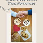pinterest image for coffee shop romances