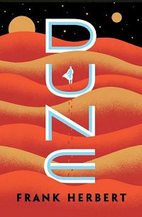 Dune by Frank Herbert book cover