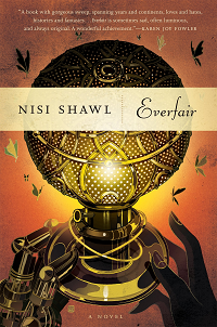 Everfair by Nisi Shawl book cover
