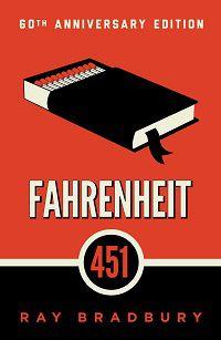 Fahrenheit 451 by Ray Bradbury book cover