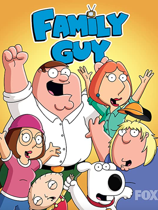 promotional image for Family Guy TV show (1999)