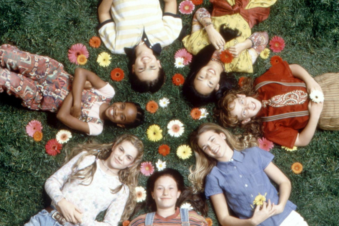 Film still from the 1995 Baby-Sitters club film