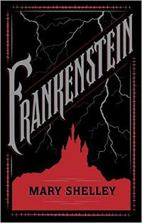 cover image of Frankenstein by Mary Shelley book cover