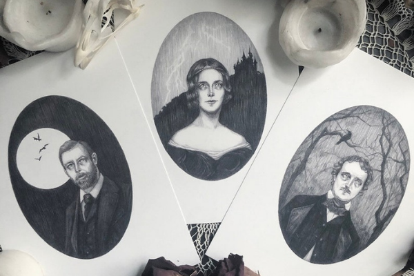 Gothic Author Portraits