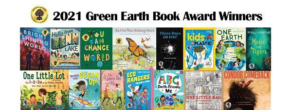 Green Earth Book Award Winners 2021 for environmental kids literature