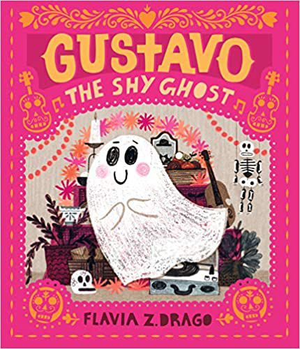 cover of gustavo the shy ghost