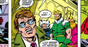 Harris Hobbs in panel from Thor 277 comic