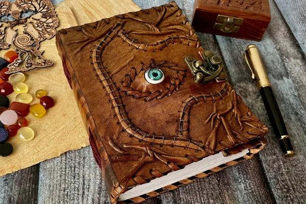 Leather Spell Book Replica