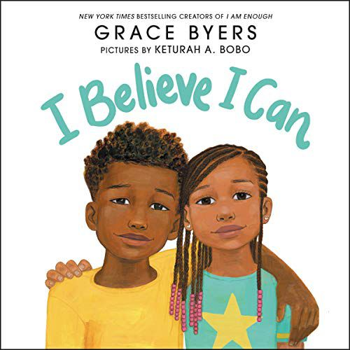 cover of i believe i can by Grace Byers