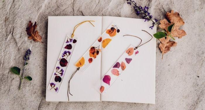 Fall Bookmarks For Reading Season